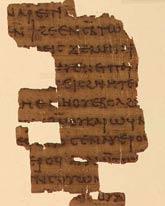 fragment Kodeksu III z Nag Hammadi
