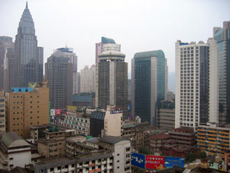 Chonqing - centrum
