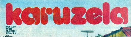 nagłówek Karuzeli z 1980 r.