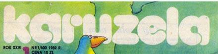nagłowek Karuzeli z 1982 r.