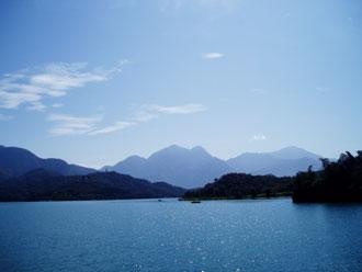Tajwan, Sun Moon Lake, strona księżycowa