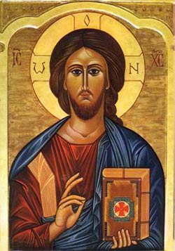 ikona z Jezusem