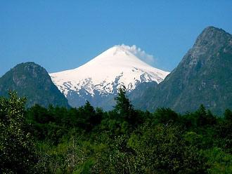 Chile, wulkan Villarrica