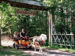 Anatolka - brama wjazdowa