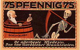notgeld Nordhausen -1921 r