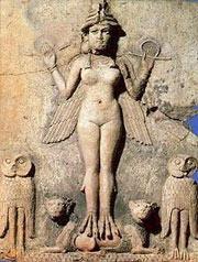 Inanna-Isztar